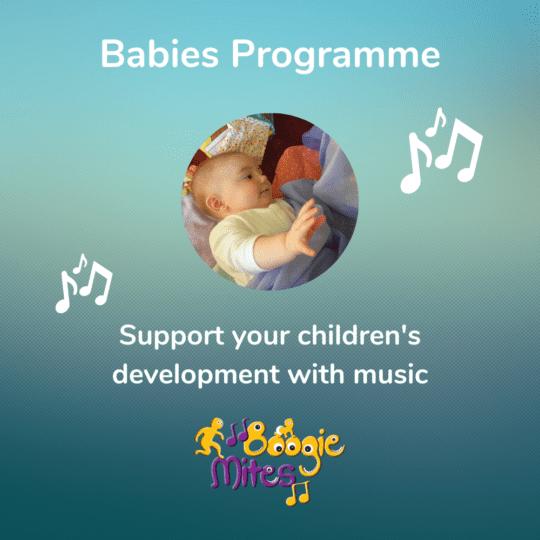 Boogie Mites Babies Programme