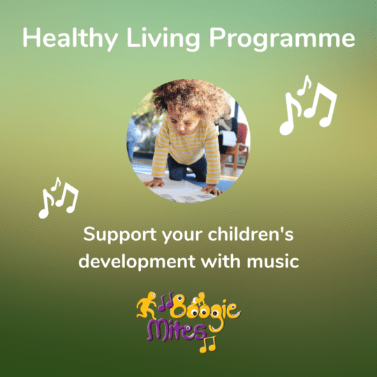 Boogie Mites Healthy Living Programme