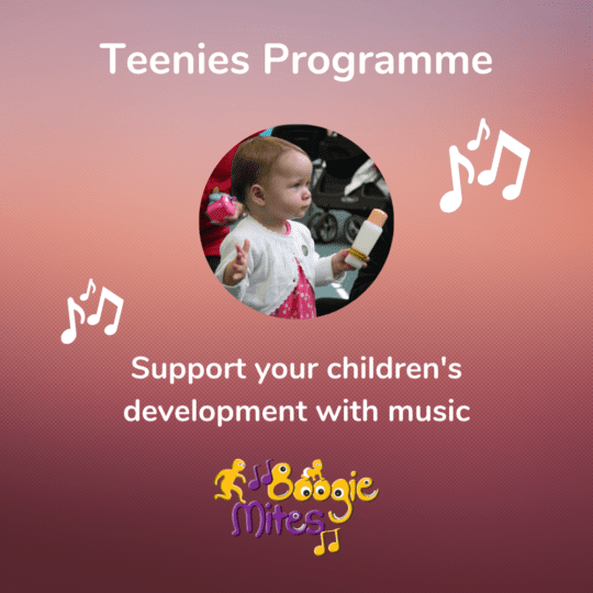 Boogie Mites Teenies Programme