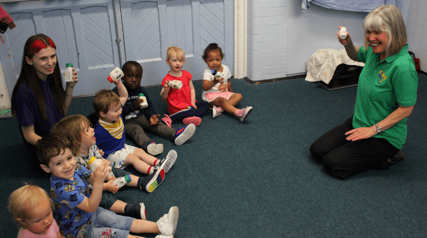 Music and the revised EYFS: 2-3's